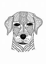 Coloring Pages Hard Dog Adult Advanced Woof Adults Animal Printable Dogs Pdf Colouring Mandala Favecrafts Animals Cat Face Books Doggy sketch template