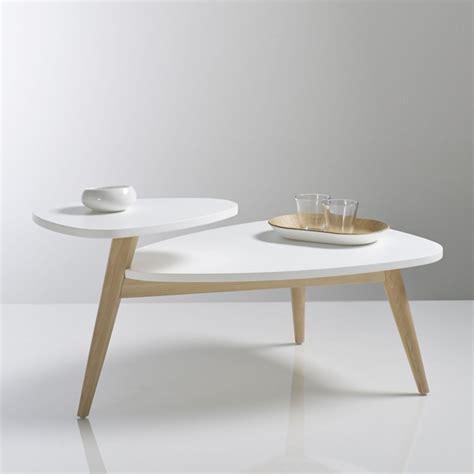 table cuisine la redoute table basse vintage plateau jimi blanc la redoute