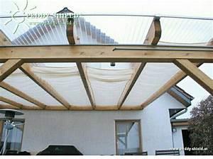mit doppelstegplatten gerades vordach vorm giebel With terrassenüberdachung mit doppelstegplatten