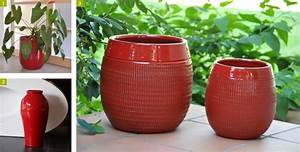 Pot Grande Taille : pots et cache pots xxl voyez grand pour vos plantations ~ Teatrodelosmanantiales.com Idées de Décoration