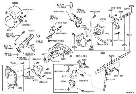 Toyota Tundra Lower Steering Column Trim