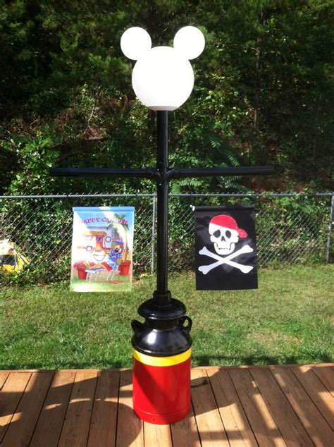mickey mouse outdoor l post mickey l post disney cing pinterest posts and
