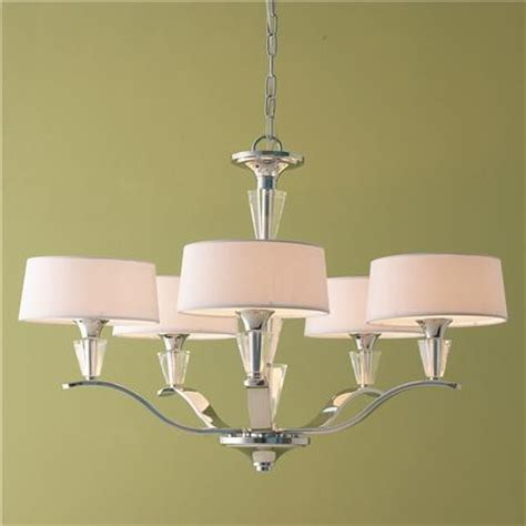 modern tiered and chrome shade chandelier medium