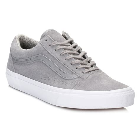 vans light up shoes vans womens light grey trainers woven old skool suede lace
