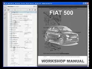 Fiat 500  2013  - Service Manual