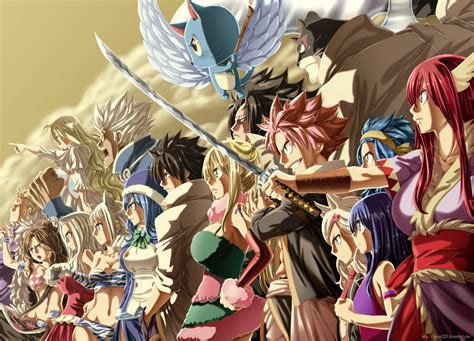 Fairytale Anime Wallpaper - hd wallpaper background image 1942x1400