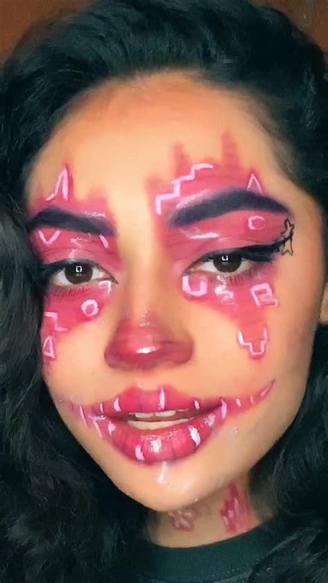 pin  crystals skylar  uh god crazy makeup clown makeup scary clown makeup