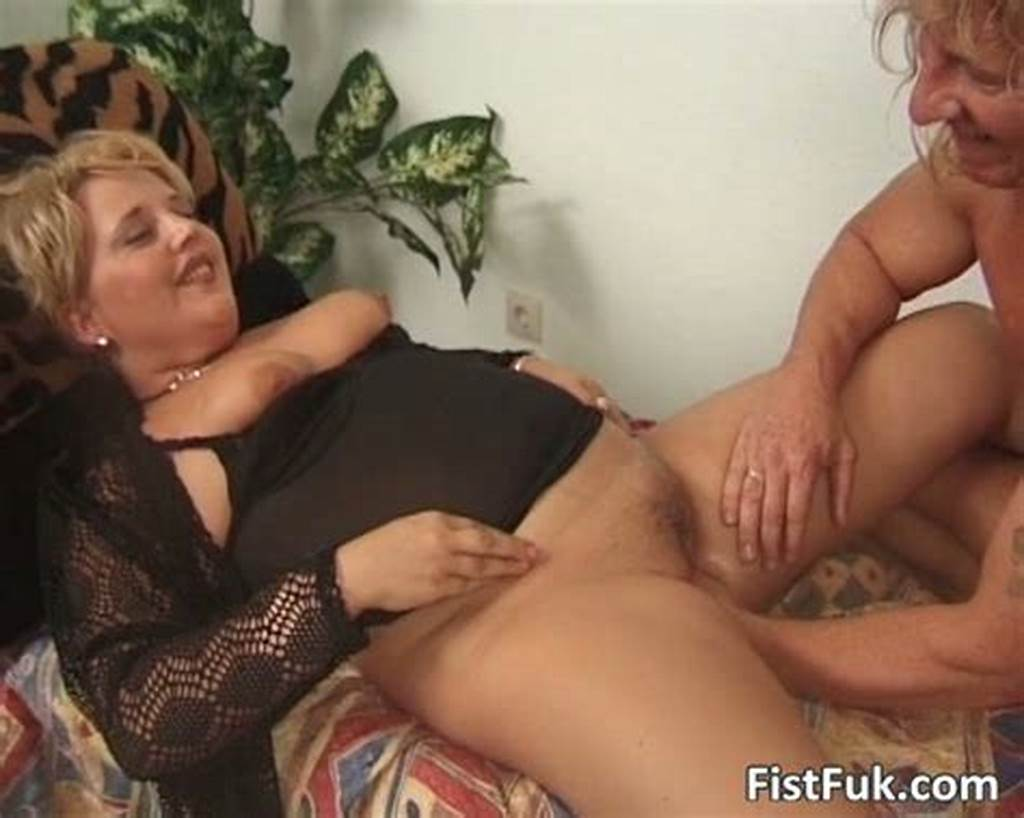 #Chubby #Mature #Blond #Gets #Her #Pussy #Fisted