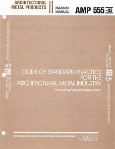 Amp National Association Of Architectural Metal Manufacturers