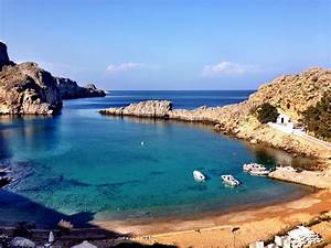 Beautiful Lindos And Rhodes Coast With A Musical Twist