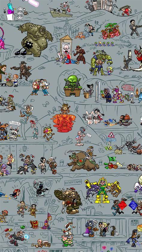 video game iphone wallpapers wallpapersafari