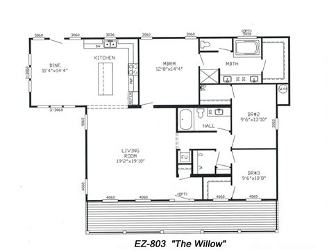 modular home floor plans illinois awesome manufactured homes marlette floor plans home triple