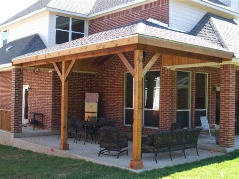 Roof Over Patio Ideas Flat Roof Overhang