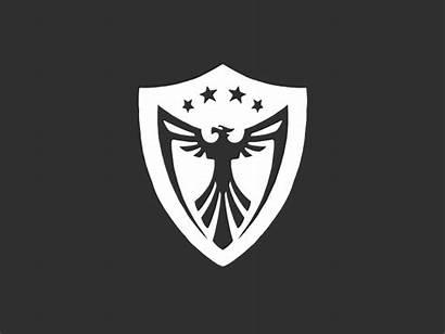Shield Phoenix Military Dribbble Bird Eagle Icon