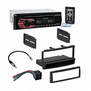 Pioneer Car Radio Stereo   Single Din Dash Kit Harness For