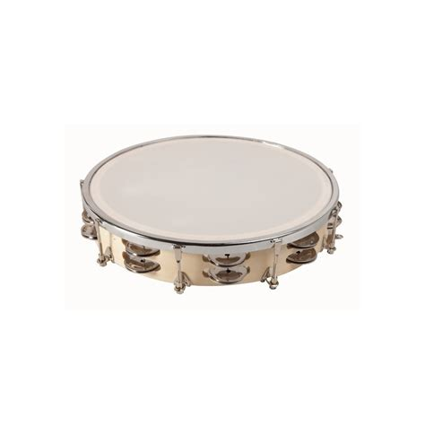 Classically the term tambourine denotes an instrument with a drumhead, though some variants may not have a head. Double Cymbals Tambourine 30 cm - AmayaSport