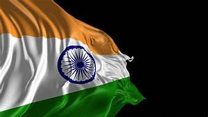 Flag Of India Beautiful 3d Animation Of India Flag In Loop ...