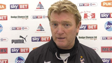 Stuart McCall after Rotherham United away match - YouTube