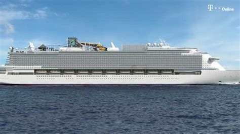 größte passagierschiff der welt deutsche bauen das gr 246 223 te kreuzfahrtschiff platz f 252 r 9 500 passagiere