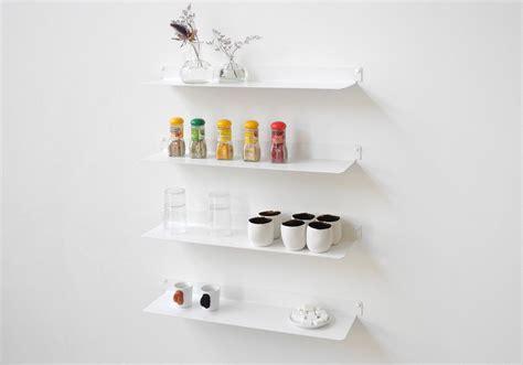 etagere pour livre de cuisine étagère pour la cuisine teeline 60 cm lot de 2 acier