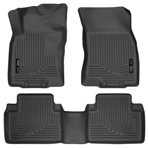 Husky Liners Weatherbeater Floor Liners by Husky Weatherbeater Floor Mats All Weather Liners Black