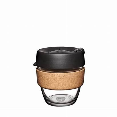 Cork Keepcup Cup Brew Reusable Glass 8oz