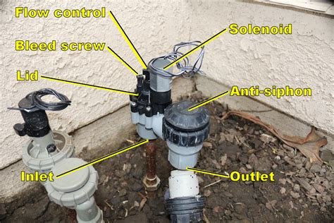 Anti Siphon Faucet Leak by Rainbird Anti Siphon Valve Leaks Won T Fully