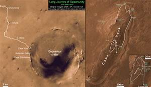 Opportunity Mars Rover Blazes Past 40 Year Old Space ...