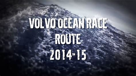 unveiling  volvo ocean race route   youtube