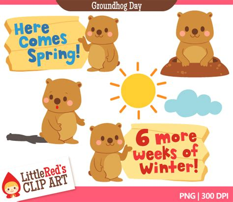 Groundhog Day Clipart Free Groundhog Day Clip Cliparts