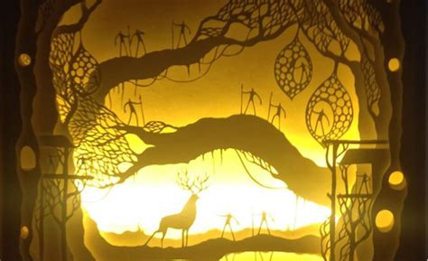 Paper Cut Light Box Fairytale Art Posters Wall Art Unicorn Arts And Craft Library Petsmart Barrie Electronic Annual Report City Verses Wallpaper Tribal Circle
