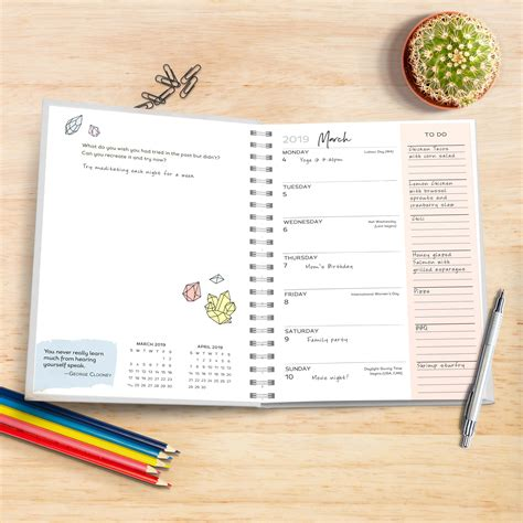 amy knapps busy planner august december amy