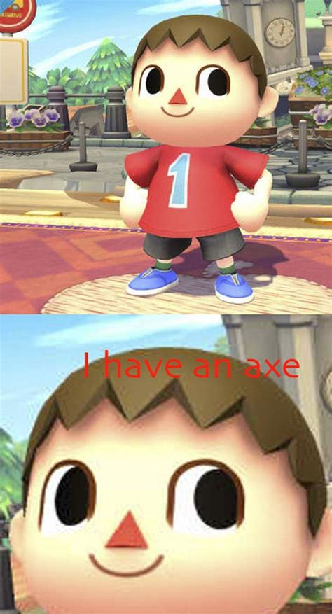 villager  secretly   terrifying  character
