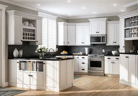 Kitchen Cabinets At The Home Depot How To Clean Kitchen Wall Tiles Home Appliances Floating Floor Lime Green Light Gray Walls Island Counters Low Energy Lights Ceiling Fixtures Fluorescent