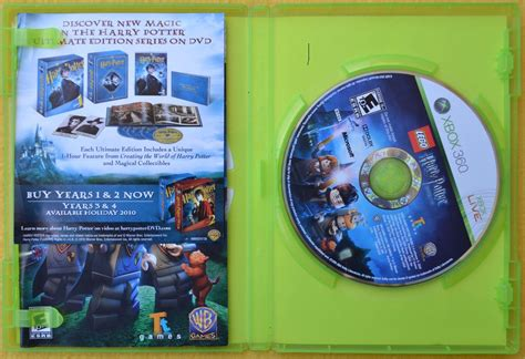 From the common room to diagon alley: Lego Harry Potter Years 1-4 Xbox 360* Play Magic - $ 250 ...