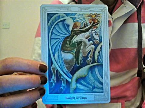 knight  cups thoth tarot card tutorial esoteric meanings