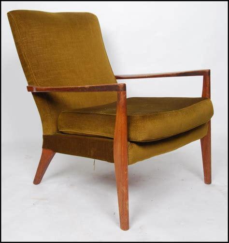 a retro mid century type armchair