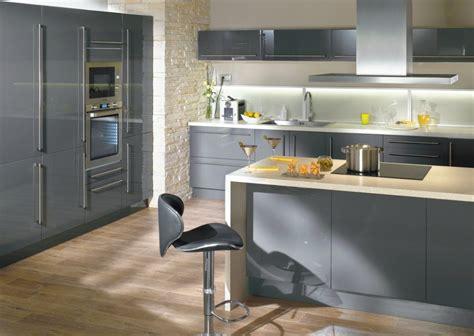 cuisine gris elite conforama  photo  une