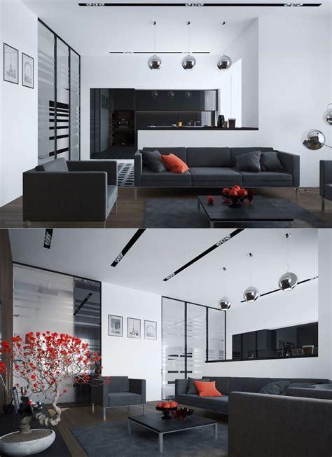 Einrichtung Kleiner Kuechekleine Kueche In Weiss Und Orange 2 by 1001 Ideen F 252 R Eine Moderne Und Stilvolle Wohnzimmer Deko