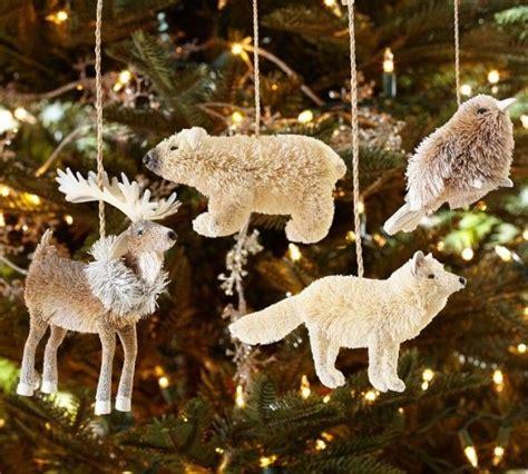 arctic animal ornaments christmas tree my christmas pinterest