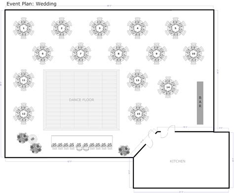 wedding reception layout wedding reception table layout template nice decoration