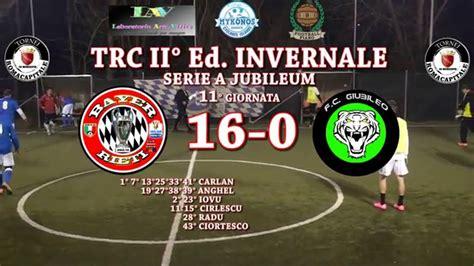 Trc Ii°ed Invernale  Ca5  11° Giornata  Serie A