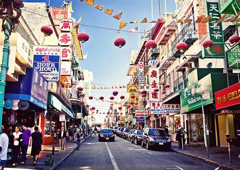 cuisine america chinatown san francisco shopping colorful alleys and dining