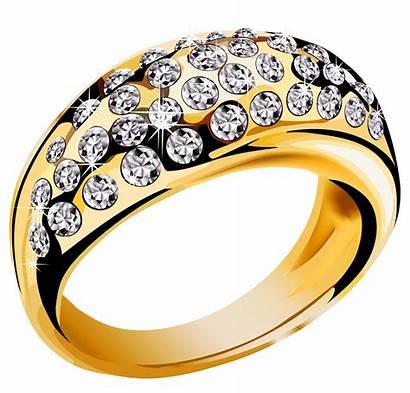 Ring Gold Diamonds Transparent Clipart Purepng