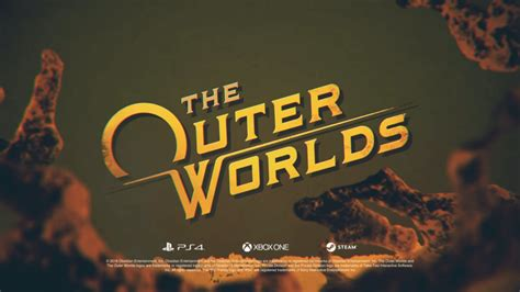 outer worlds announced  obsidian playstation universe