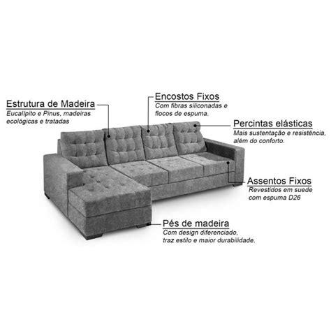 sofá 3 lugares suede chaise sof 225 3 lugares chaise marrocos suede amassado bege