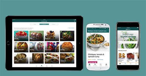 good food mobile apps bbc good food