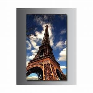 Tour Eiffel Deco : tableaux toile d co tour eiffel 02 art d co stickers ~ Teatrodelosmanantiales.com Idées de Décoration
