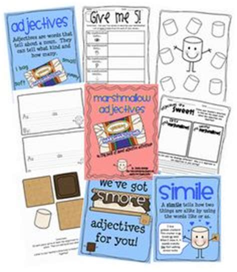 adjective activities images adjectives