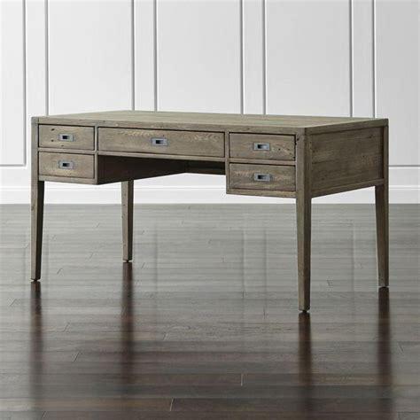 wood writing desk gray reclaimed wood writing desk